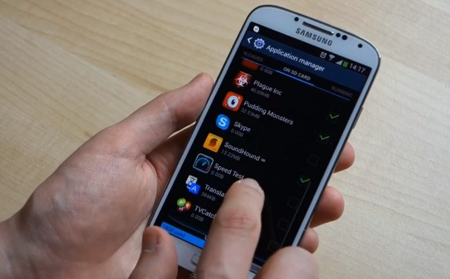 Galaxy a20s как перенести приложения на карту памяти