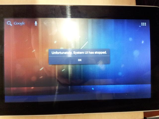 Изменить масштаб интерфейса Android 2.3