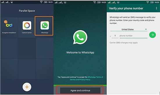 Как на Андроиде установить второй ватсап