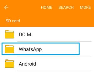 Как найти ватсап в телефоне Андроид