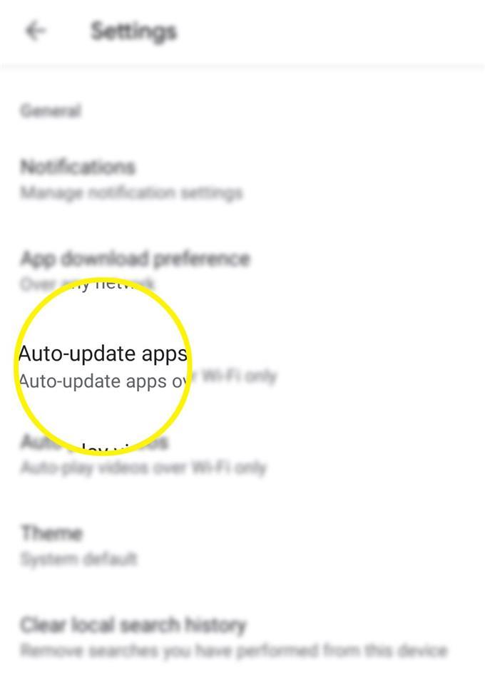 Как отключить автообновление приложений на Андроиде Самсунг