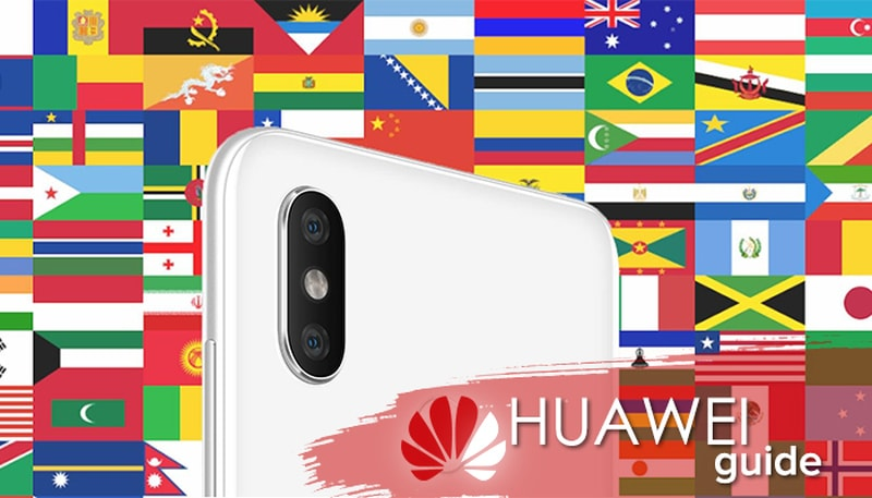 Как выбрать регион на Андроиде Хуавей