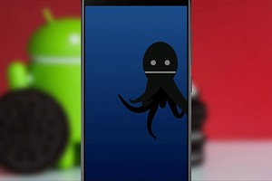 Как убрать осьминога с экрана Андроид