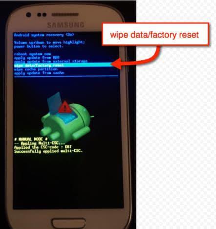 Как форматировать планшет Андроид