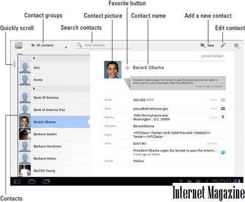 Как сортировать контакты по фамилии в Андроиде