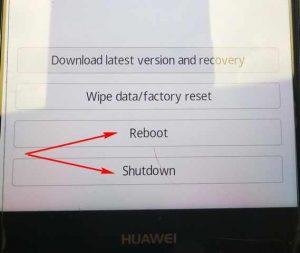 Как выйти из рекавери меню Андроид