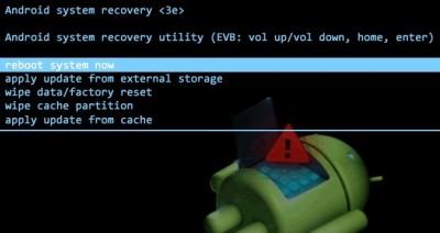Как восстановить Андроид через рекавери
