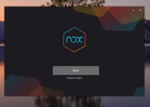 Как изменить версию Андроида в NOX