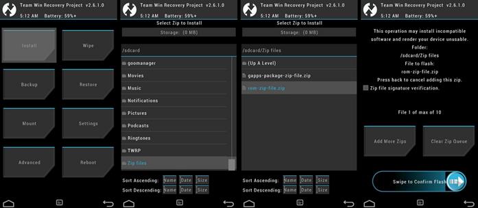 Как переустановить Android на планшете