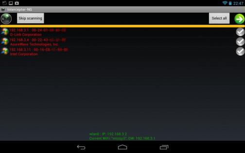 Как пользоваться интерцептор нг на Андроид