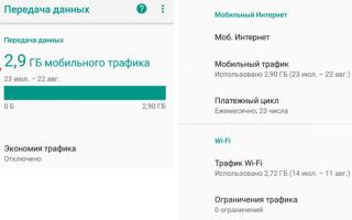 Как посмотреть трафик интернета на телефоне Андроид